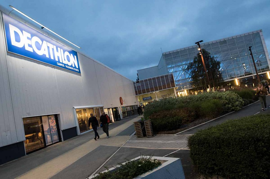 Decathlon's Campus in Lille is a combination of research facility and huge megastore