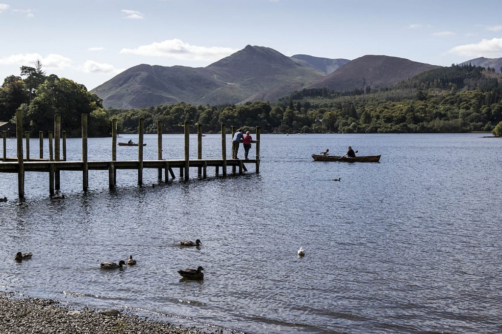 Visits to lakes were popular with people with dementia