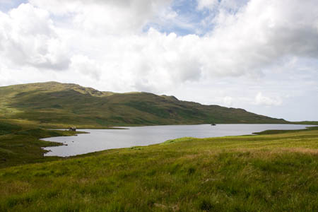 Devoke Water, the Lake District's largest tarn