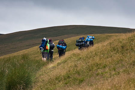 Young people spend time in the outdoors as part of their Duke of Edinburgh's Award expeditions