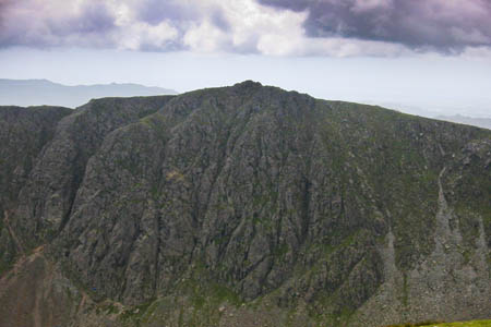 The man fell from a route on Dow Crag