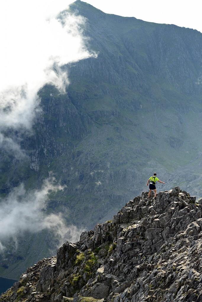 The race crosses some of Wales's toughest terrain. Photo: Jon Brooke