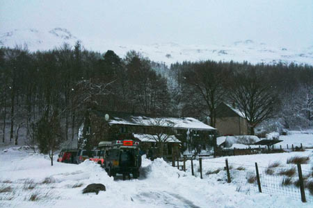 The scene during the rescue at Hinning House. Photo: Duddon and Furness MRT