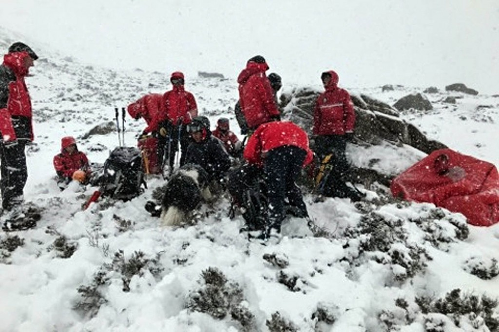 Searches for the missing walker proved 'fruitless'. Photo: Dundonnell MRT