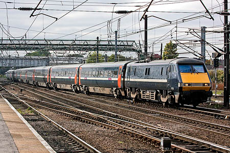 The HS2 extension will supplement East Coast Main Line services to Leeds. Photo: DA Ingham CC-BY-ND-2.0