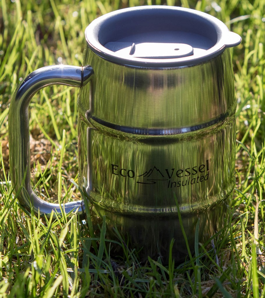 EcoVessel Double Barrel Insulated Mug