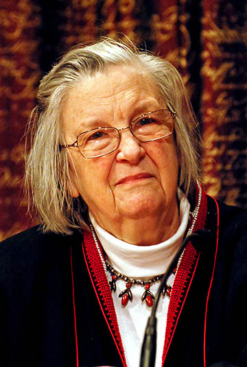 Elinor Ostrom. Photo: Holger Motzkau CC-BY-SA-3.0