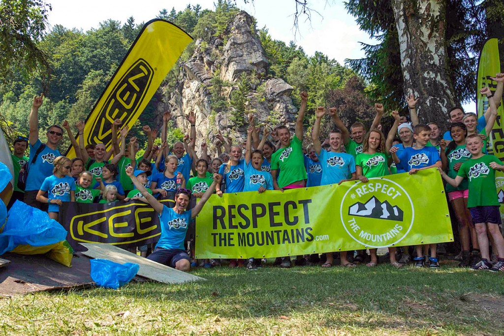 Respect the Mountains organised the Envirotrek clean-ups