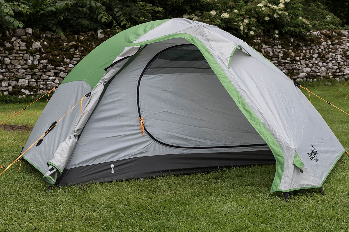 The Keego 2 is good value. Photo Bob Smith/grough & grough u2014 On test: lightweight tents reviewed