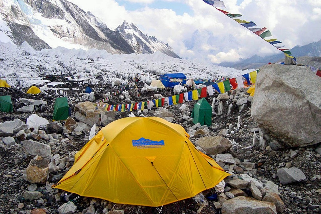 The avalanche struck Everest Base Camp. Photo: ilkerender CC-BY-2.0