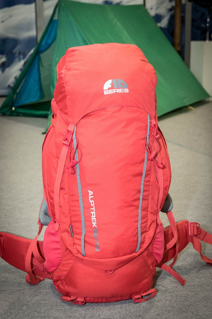 The F10 Alptrek 60+10 pack. Photo: Bob Smith/grough