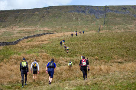 Fellsman hikers climb Gragareth