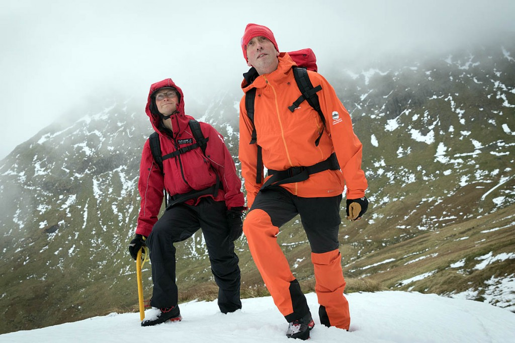 Felltop assessors Jon Bennett, left, and Graham Uney. Photo: Bob Smith/grough