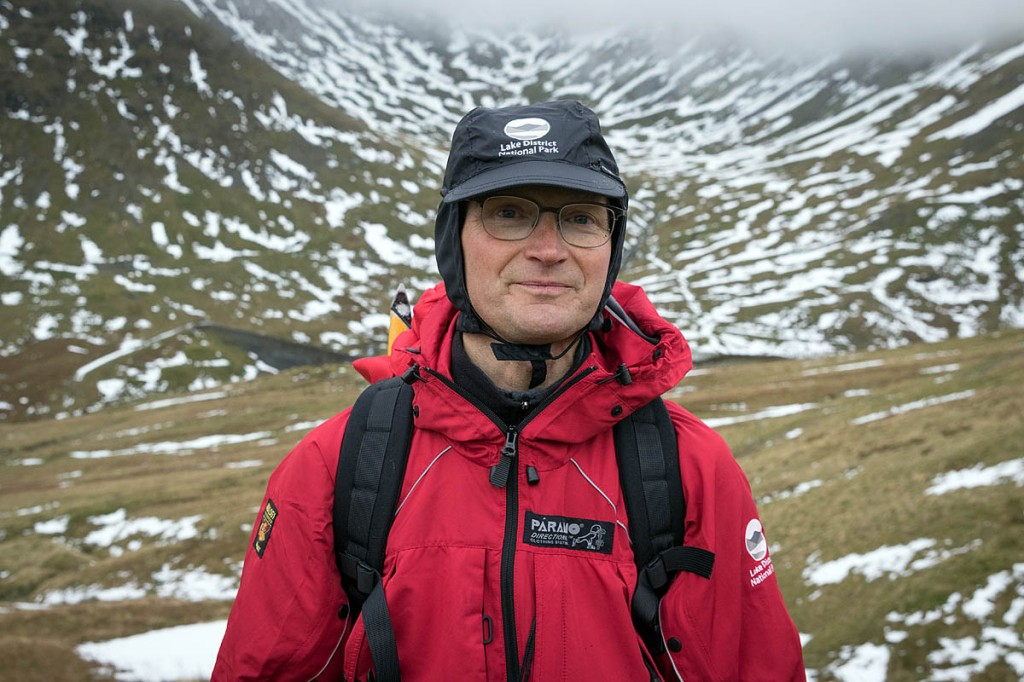 Jon Bennett, who will make the Christmas Day ascent of Helvellyn. Photo: Bob Smith/grough