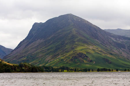 Fleetwith Pike, scene of the rescue