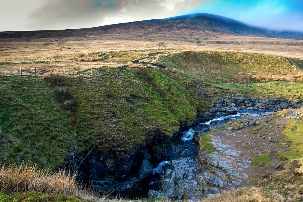 The walker was descending Little Ingleborough towards Gaping Gill. Photo: Bob Smith/grough