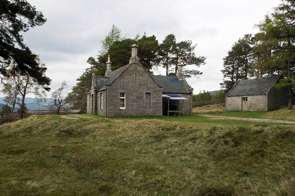 The stable building, right, at Gelder Shiel near Lochnagar, is available as a bothy. Photo: Nigel Corby CC-BY-SA-2.0