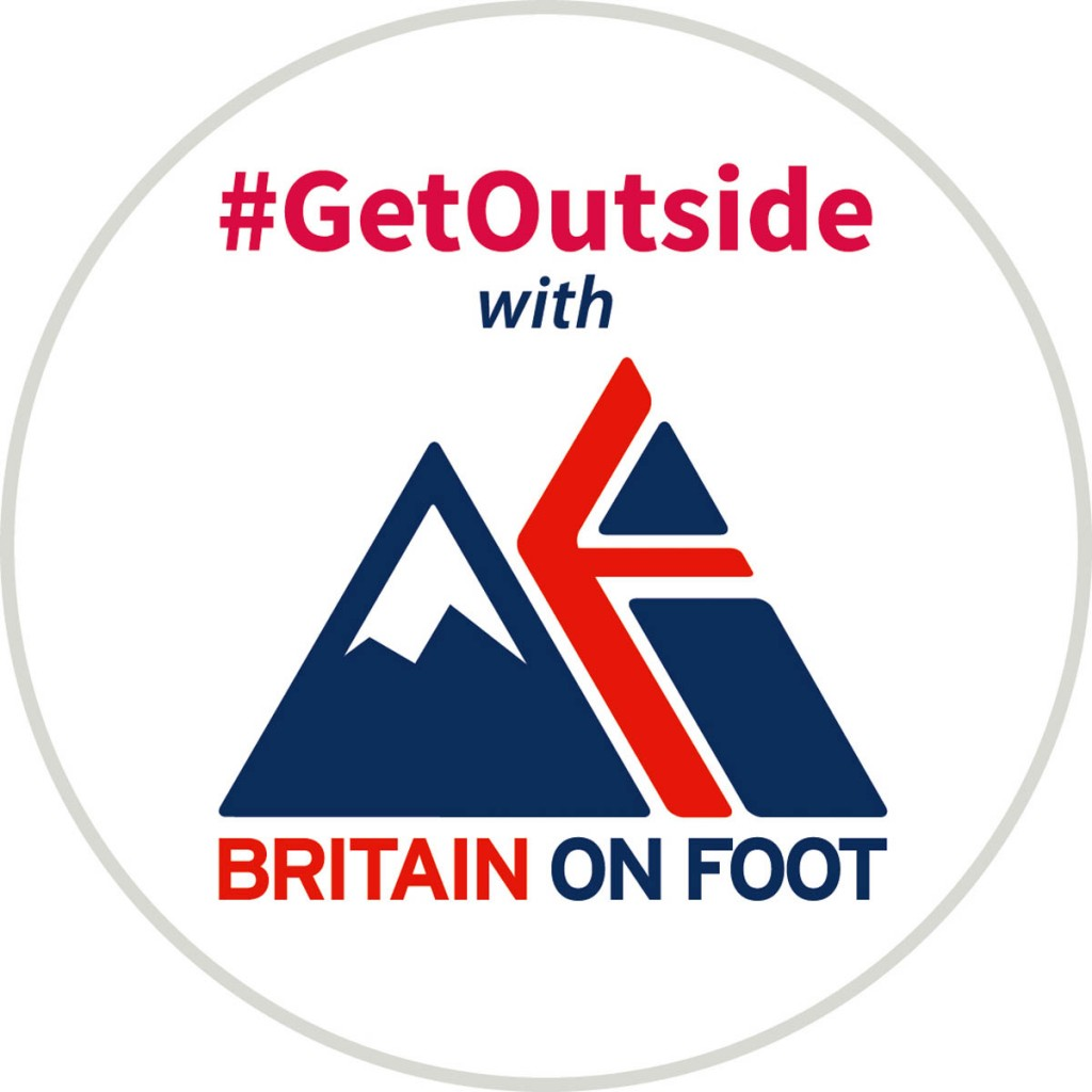 Britain on Foot will be incorporated into OS's #GetOutside