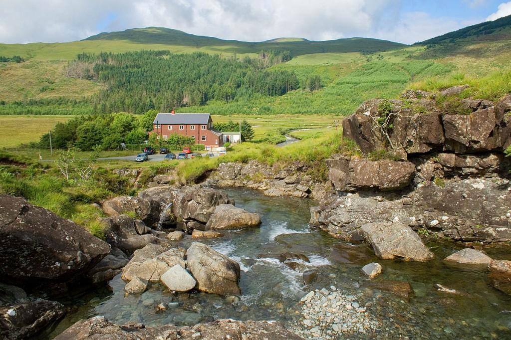 Glenbrittle Youth Hostel on the Isle of Skye