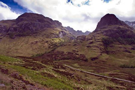 The Mountains for People project has maintained paths in Glencoe