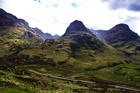 Glencoe is one of Scotland's mountain areas owned by the NTS