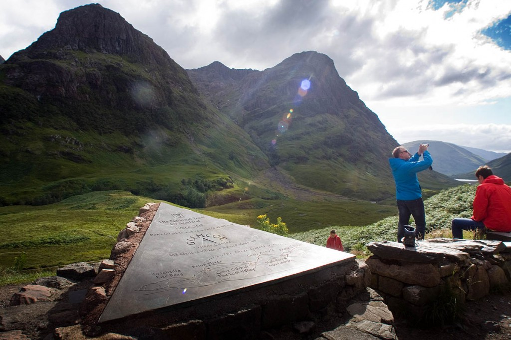 Glen Coe is among the NTS's most popular mountain properties