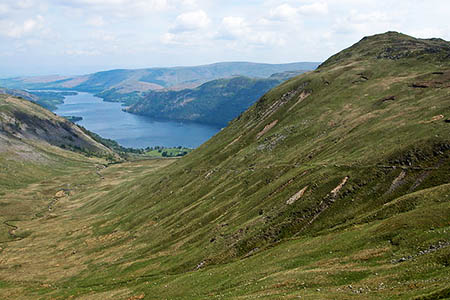 The group was camping above Glencoyne. Photo: Philip Halling CC-BY-SA-2.0