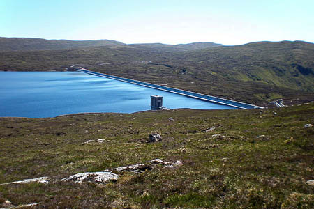 SSE wants to build the windfarm near Glendoe Reservoir. Photo: Sarah Maguire CC-BY-SA-2.0