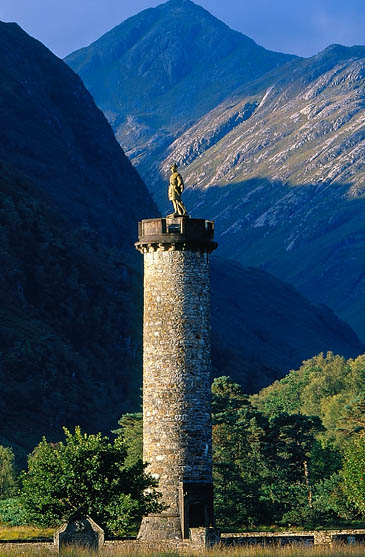 The Glenfinnan Monument. Photo: NTS