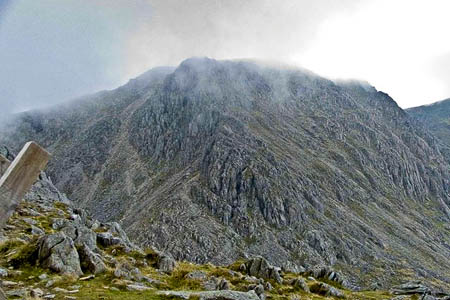 Glyder Fach, scene of the rescue. Photo: Mike White CC-BY-SA-2.0