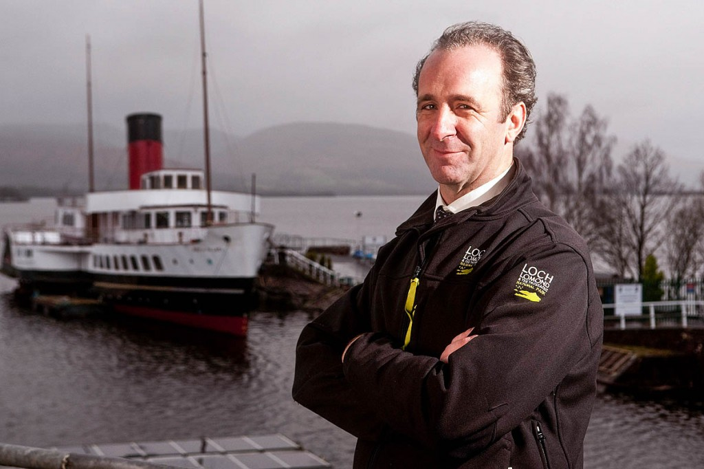 Gordon Watson, who has taken over as chief of the Loch Lomond and the Trossachs national park. Photo: Nick McGowan-Lowe