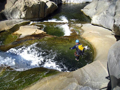 Activities such as gorge jumping are not covered by AALA. Photo: Steve Kazakos CC-BY-ND-3.0