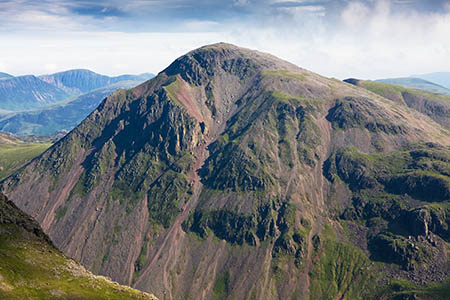 The walker suffered a suspected heart attack on the summit of Great Gable