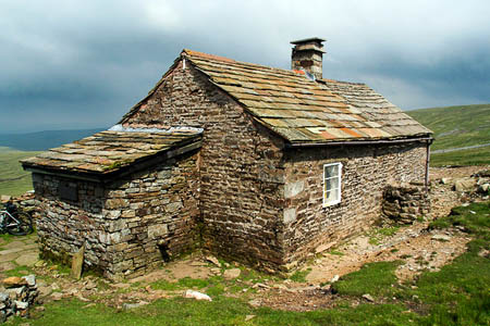 Greg's Hut on the slopes of Cross Fell near the Pennine Way is one of the bothies affected