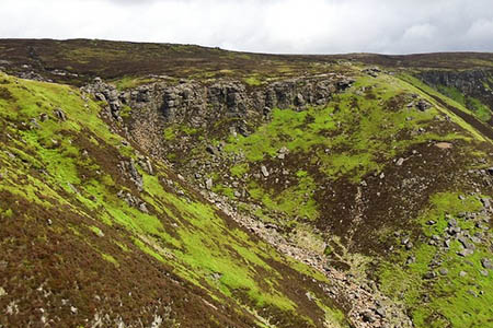 The walker was found near the top of Grindsbrook Clough. Photo: Steven Ruffles CC-BY-SA-2.0