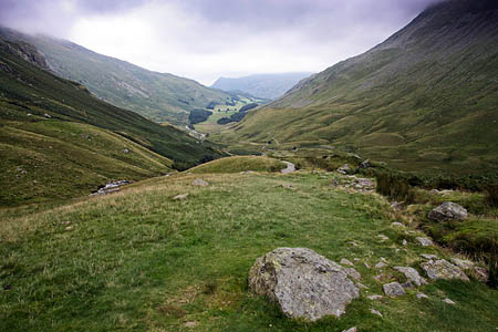 The walker slipped between Grisedale Tarn and Patterdale