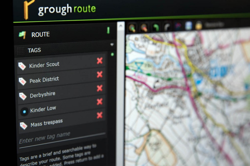 grough route uses OS mapping