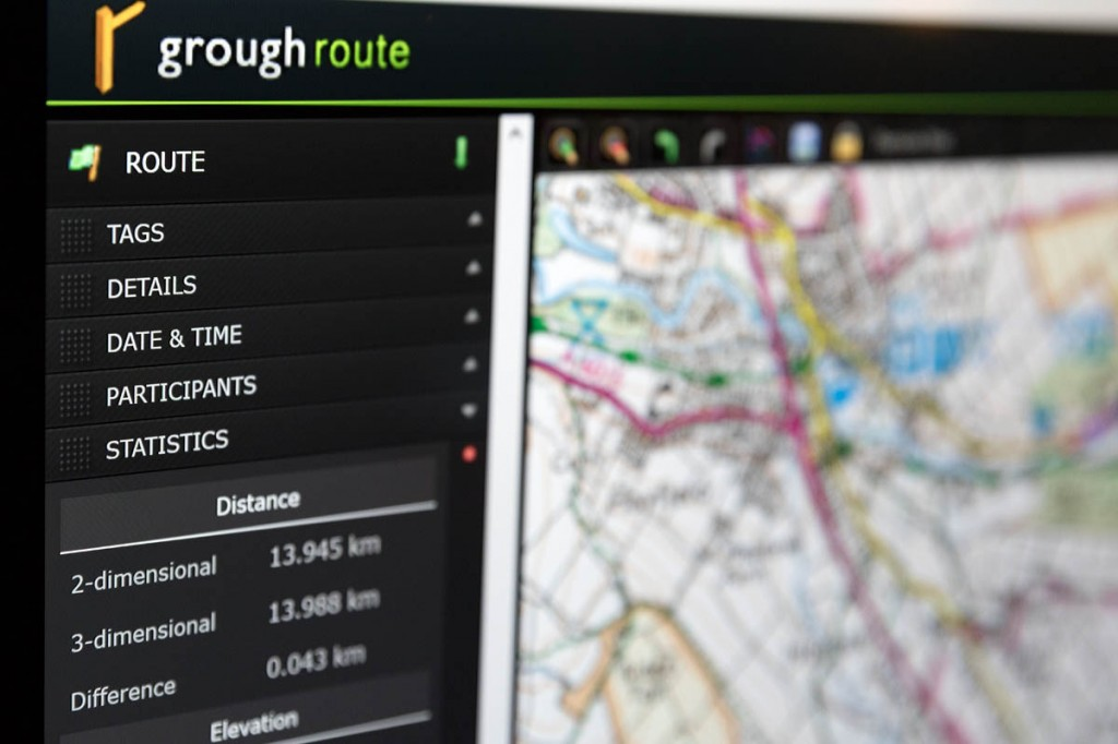 grough route allows users to create their own routes or those shared by other subscribers