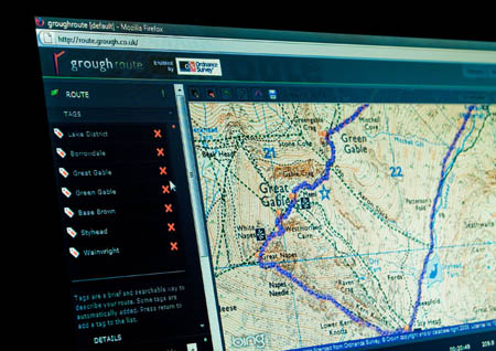 grough route is your gateway to our great new online mapping community