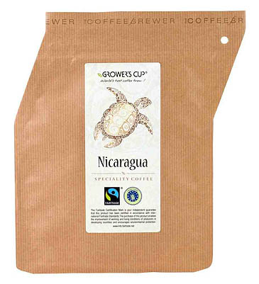 Grower's Cup: coffee in a pouch