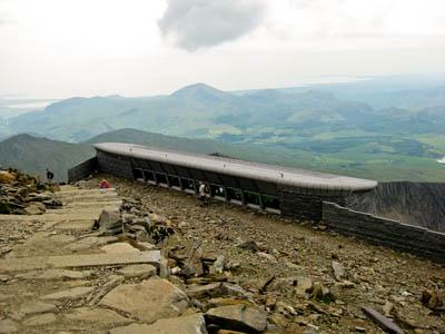 Hafod Eryri on the summit of Snowdon. Photo: Andrew Woodvine CC-BY-2.0