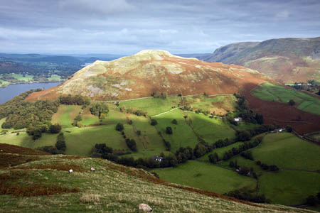 Hallin Fell, scene of one of the rescues