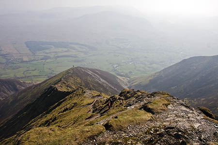 Hall's Fell Ridge will be the route taken to the top of Blencathra