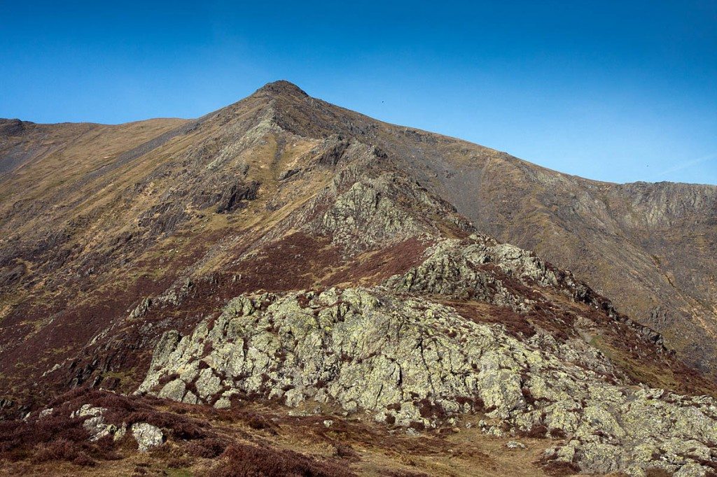 Walkers will ascend Blencathra by Hall's Fell Ridge