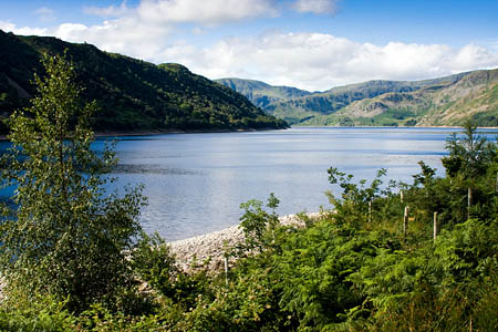 Haweswater, one of United Utilities' reservoir estates where the junior recruits could work