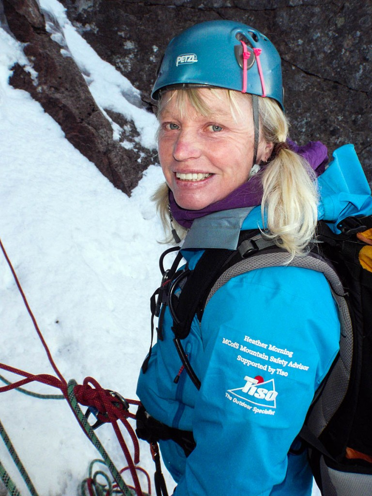 Mountaineering Scotland mountain safety adviser Heather Morning