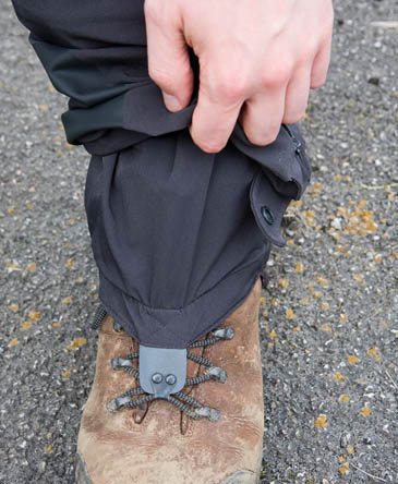 The Odin Guide Pant Mark 2 has internal gaiters