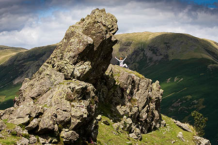 Helm Crag is in the list of the Fours