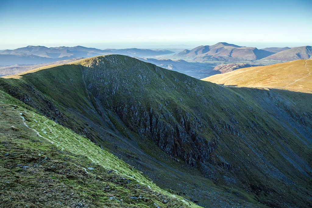 The woman fell into Brown Cove on Helvellyn