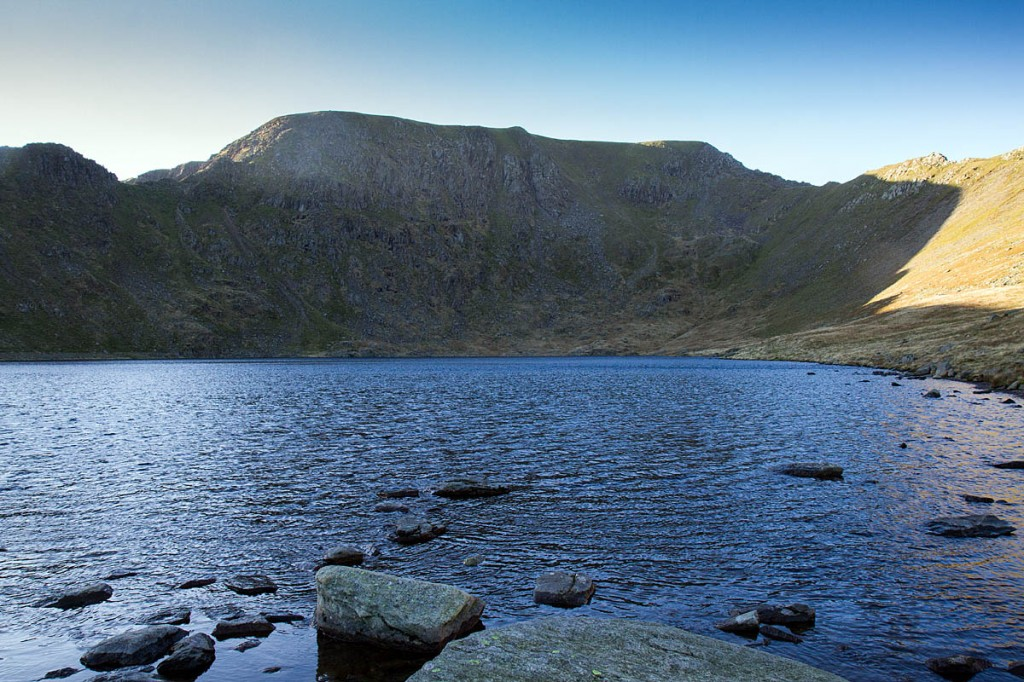 The man was found by rescuers at the foot of Helvellyn's headwall